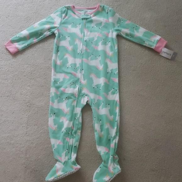 0cb1b21de Carter's Pajamas | Carters Toddler Girl 3t Fleece Nwt | Poshmark